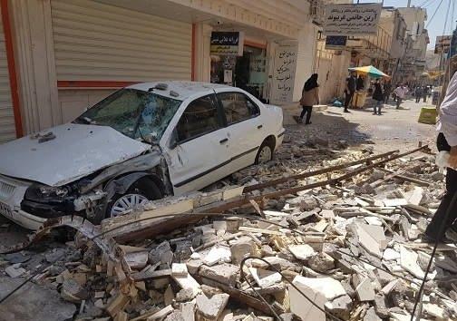 عکس زلزله امروز مسجدسلیمان اهواز