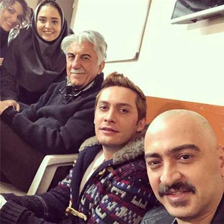 عکس سعید رضایی در سریال بوی باران