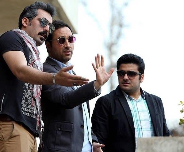 عکس سهند جاهدی بازیگر نقش متین در سریال آچمز