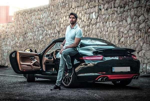 عکس شهاب شادابی بازیگر نقش سهیل در سریال بوی باران