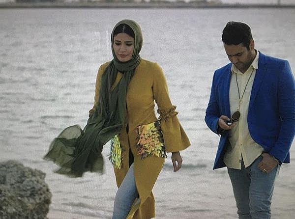 عکس شیوا طاهری و پوریا پورسرخ در سریال ریکاوری