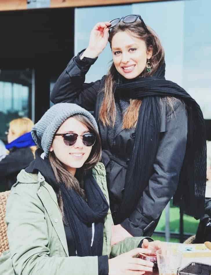عکس مونا اسکندری و خواهرش مریم