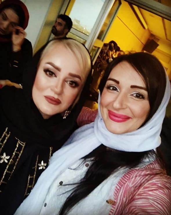 عکس مژگان ترانه و نعیمه نظام دوست