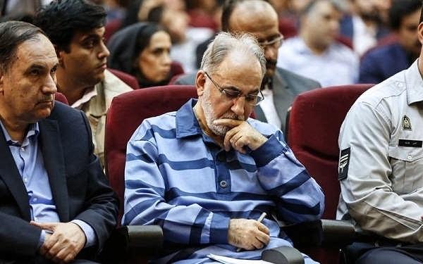 عکس نجفی در دادگاه قتل میترا استاد