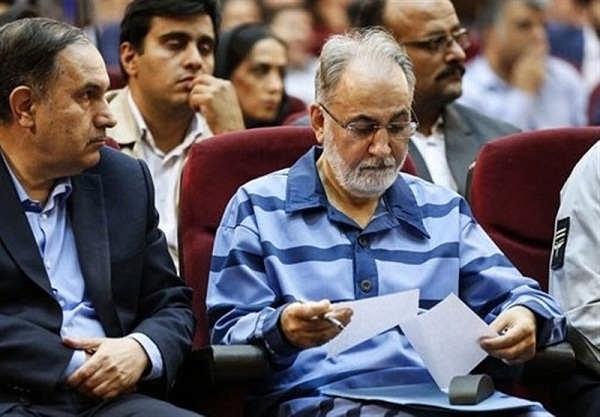 عکس های محمدعلی نجفی در دادگاه