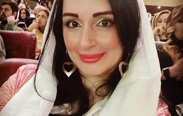 عکس مژگان ترانه در جشن حافظ