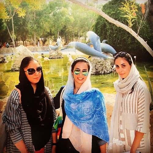 عکس های ناره گریگوریان بازیگر نقش فرزانه ناصری در گاندو
