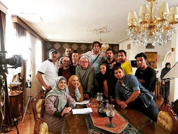 عکس های پریسا مقتدی در پشت صحنه سریال آچمز