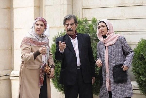 عکس پریسا مقتدی در سریال خانواده بوربور