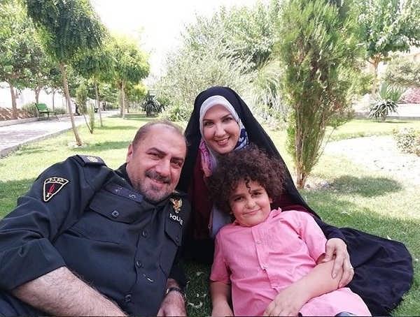 عکس پریسا مقتدی در سریال گشت پلیس