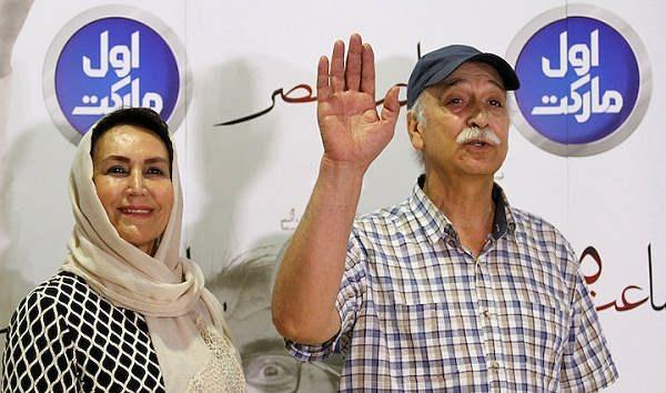 مهوش صبرکن و همسرش محمود پاک نیت