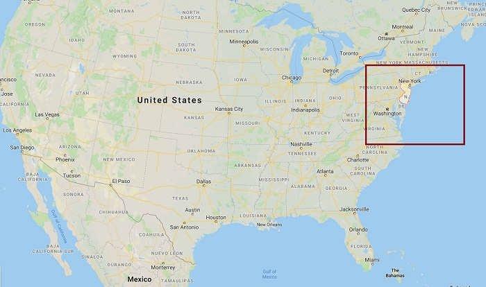 نیوجرسی کجاست؟