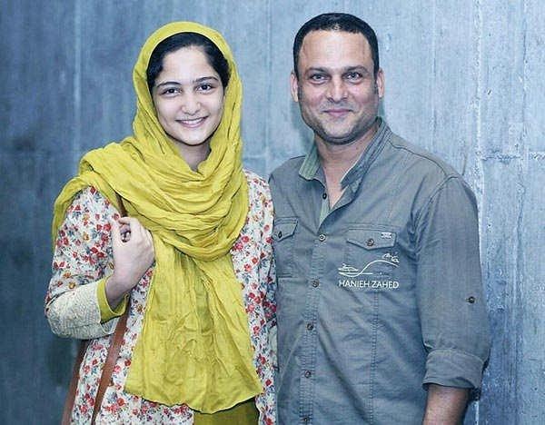 حسین یاری و دخترش