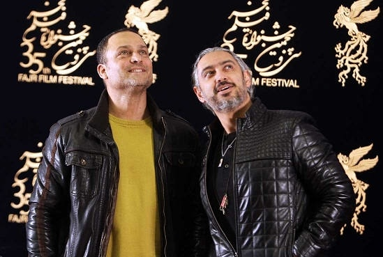 حسین یاری و مازیار فلاحی در نشست فیلم یادم تو را فراموش