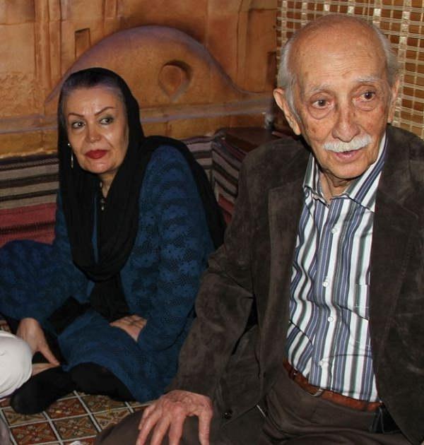 داریوش اسد زاده و همسرش