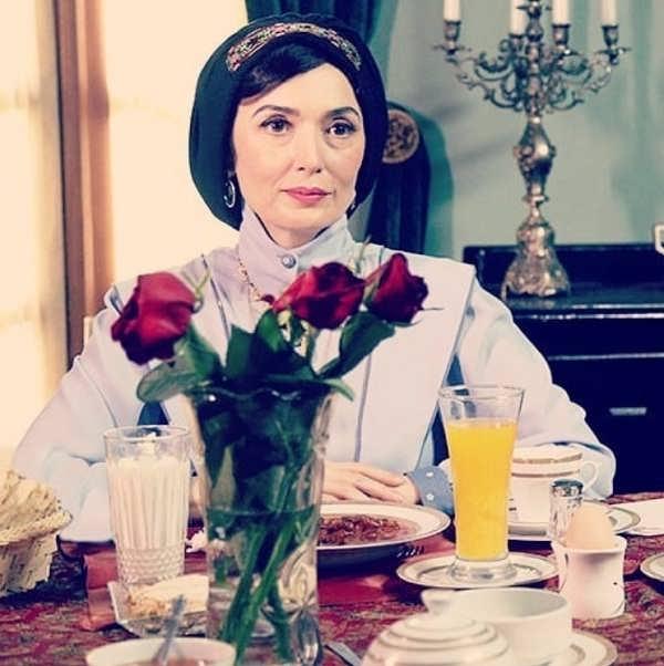 عکس آتنه فقیه نصیری در سریال شهرزاد