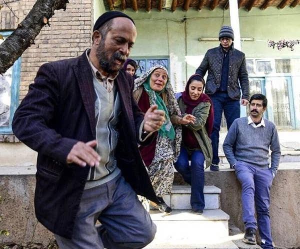 عکس احمد مهرانفر در فیلم سینمایی خجالت نکش