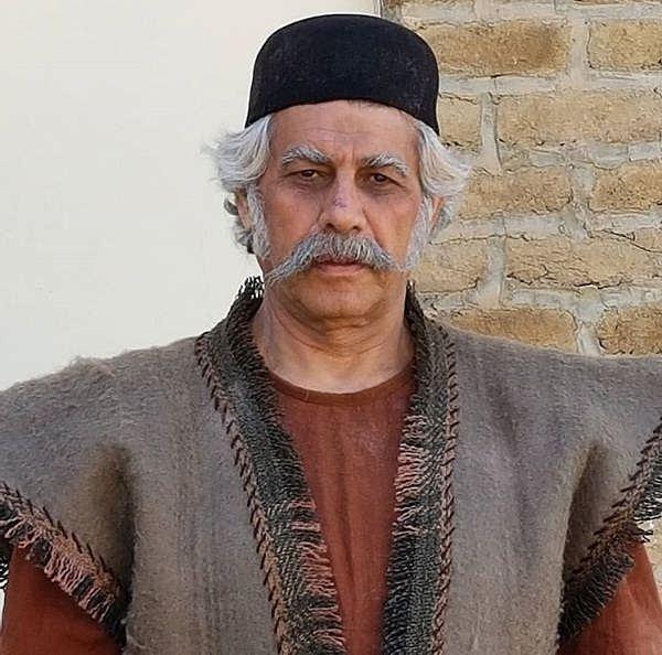 عکس حبیب دهقان نسب بازیگر نقش مراد بیگ در سریال بانوی سردار