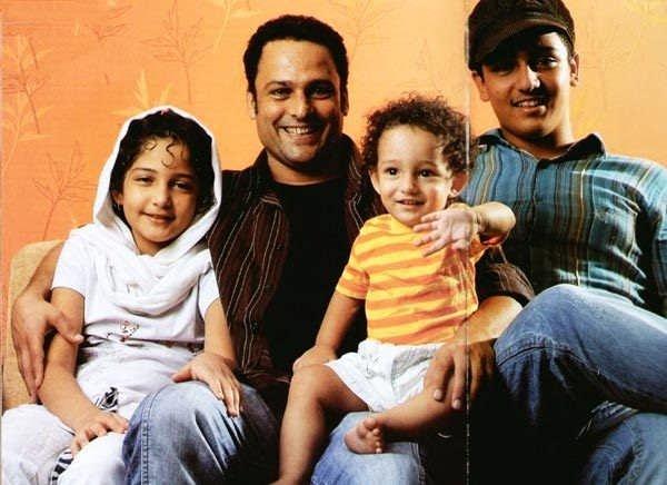 عکس حسین و فرزندانش
