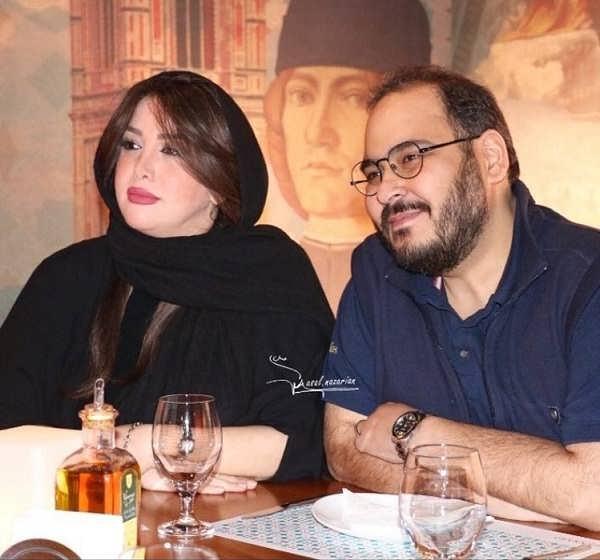 عکس خواهر عسل بدیعی، غزل بدیعی و همسرش رضا داوودنژاد