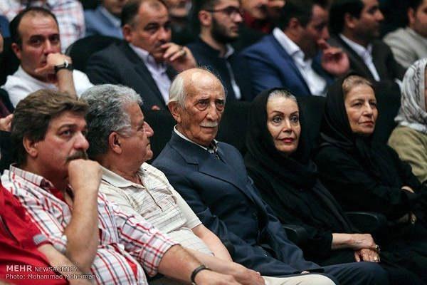 عکس داریوش اسد زاده و همسرش