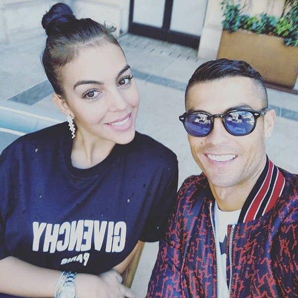 عکس رونالدو و همسرش