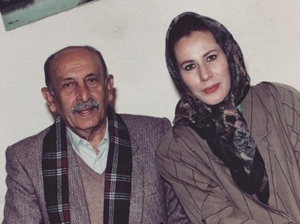 عکس قدیمی از معصومه آقاجامی و مرتضی احمدی