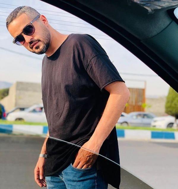 عکس مجتبی پیرزاده بازیگر نقش سهراب در سریال سایه بان