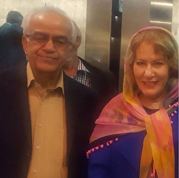 عکس معصومه آقاجانی و ابوالحسن تهامی
