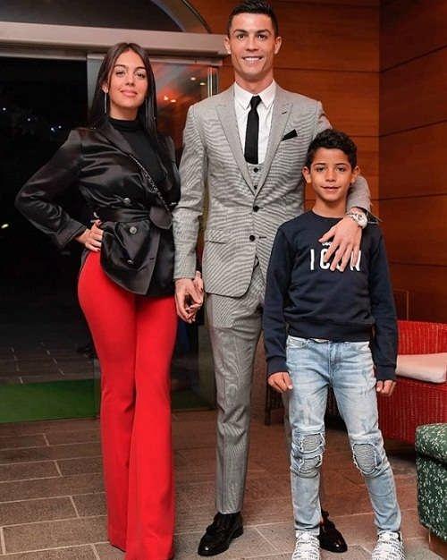 عکس های رونالدو و خانواده اش