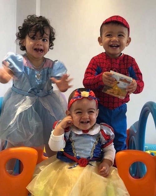 عکس ۳ فرزند کوچک رونالدو
