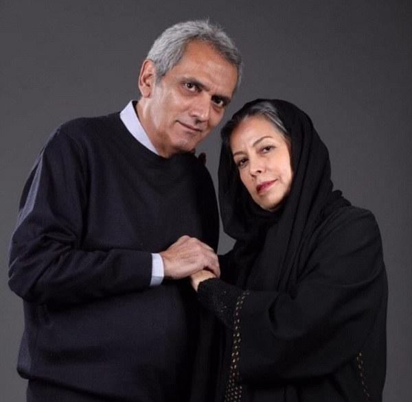 فرخ نعمتی و همسرش سهیلا رضوی بازیگران سریال بانوی سردار