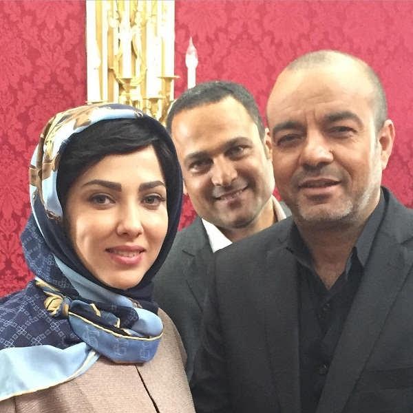 لیلا اوتادی،حسین یاری و سعید آقاخانی