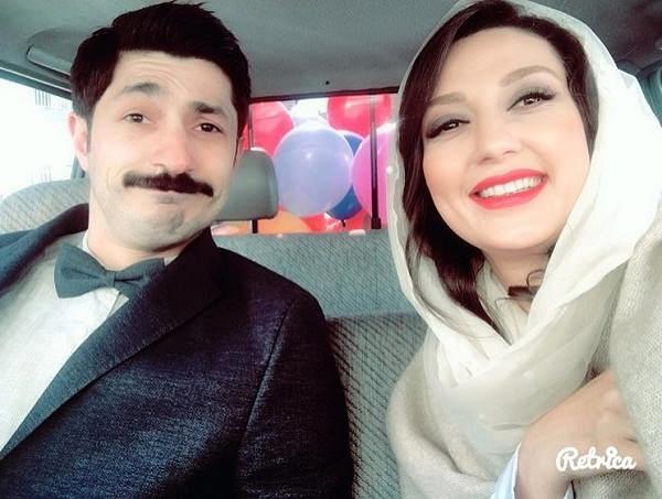عکس مجتبی رجبی همسر حدیث میرامینی