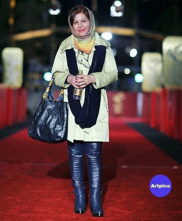 عکس های اکرم محمدی بازیگر نقش خانم بزرگ در ستایش ۳