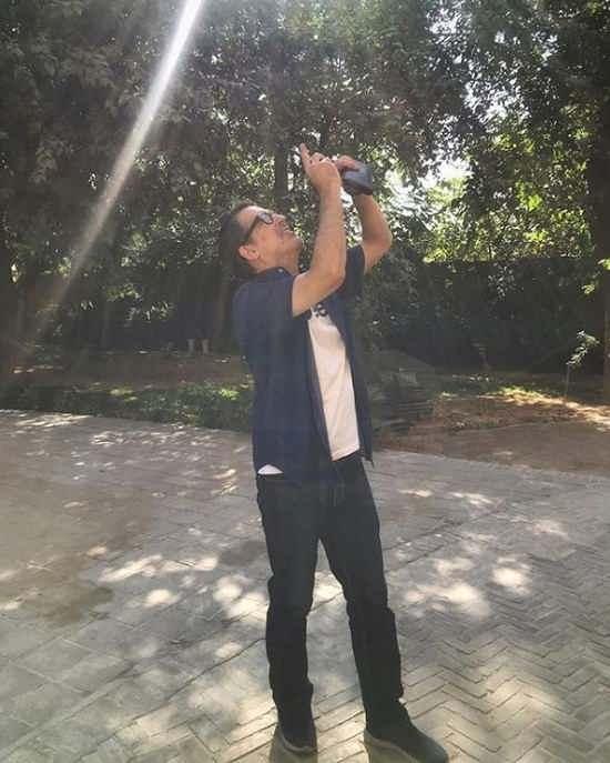 عکس فرهاد جم بازیگر نقش حاج آقا در ستایش ۳