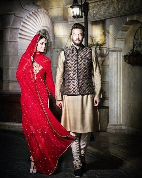 بنیامین بهادری و همسرش شایلی محمودی در فیلم سلام بمبئی