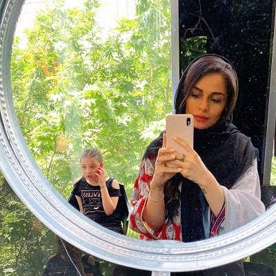 شایلی محمودی و دخترش بارانا بهادری