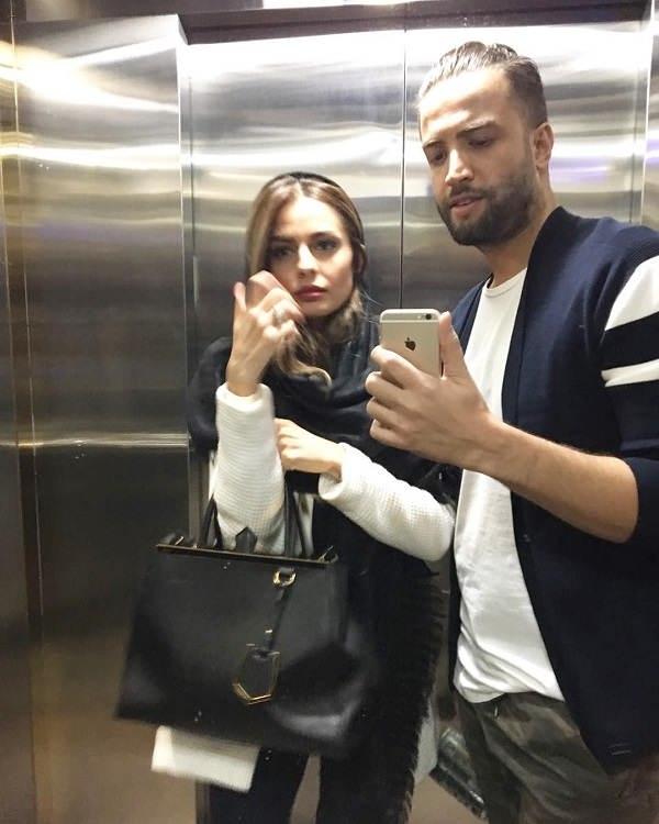 عکس بنیامین بهادری و شایلی همسر دوم او