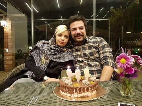عکس سالار کریمخانی و همسرش