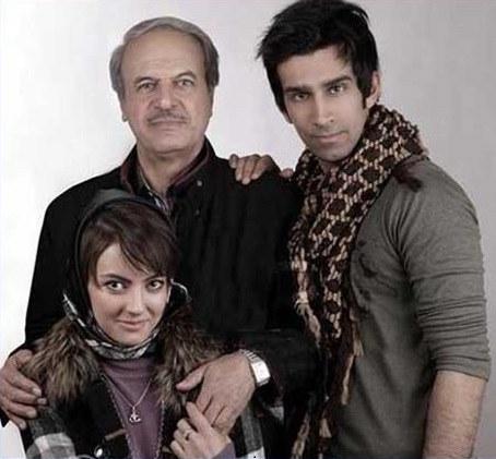 عکس غلامرضا نیکخواه و دختر و پسرش
