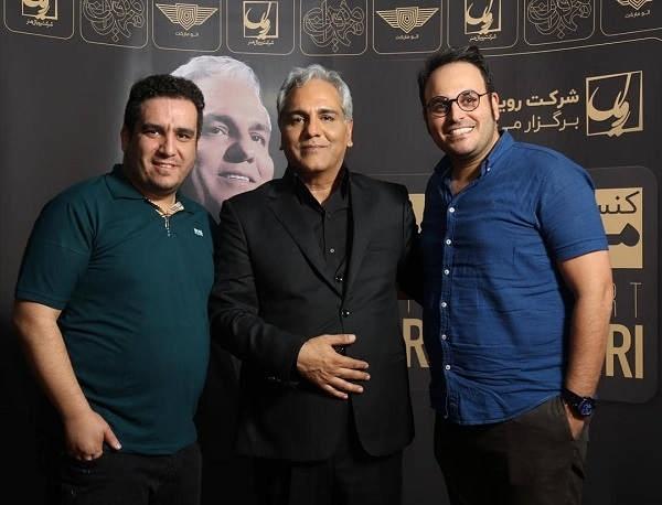 عکس محمدحسین مهدویان در کنار مهران مدیری