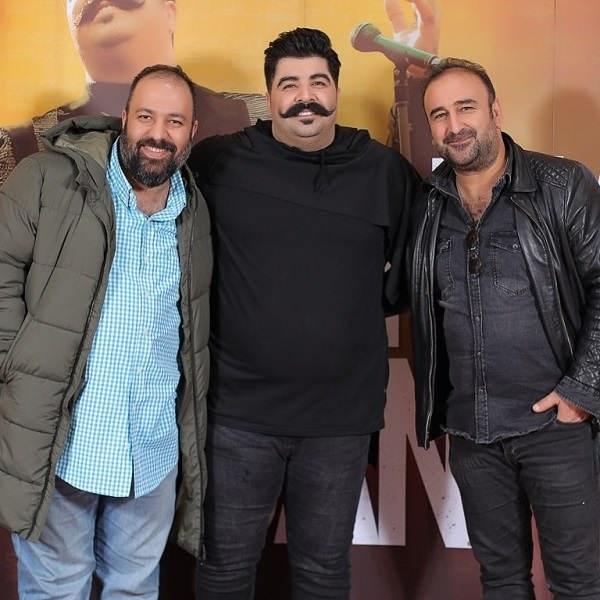 عکس مهران احمدی در کنار بهنام بانی و علی اوجی