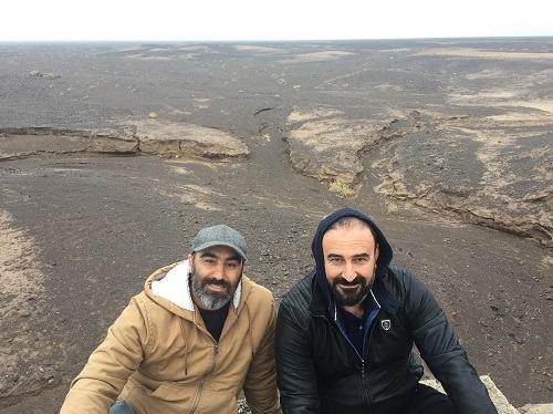 عکس مهران احمدی و محسن تنابنده