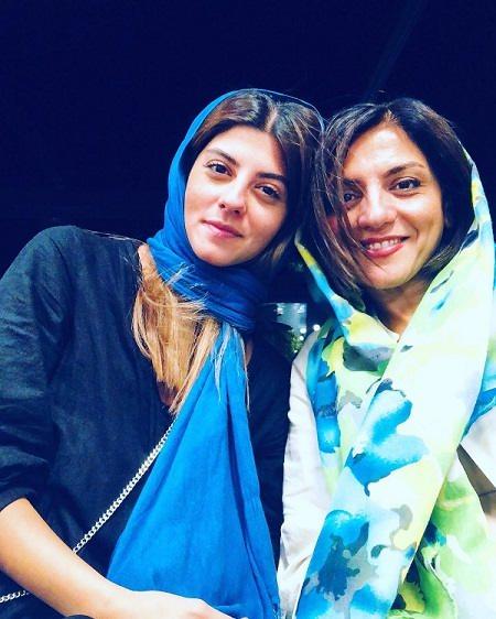 عکس مهسا طهماسبی و مادرش