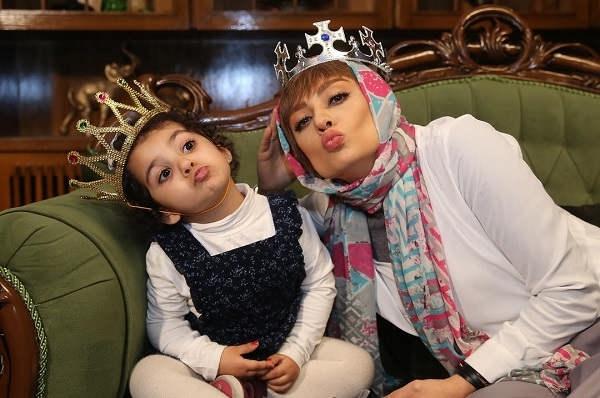 عکس یکتا ناصر و دخترش سوفیا