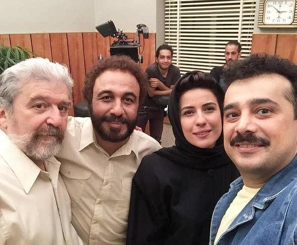 عکس امید روحانی بازیگر