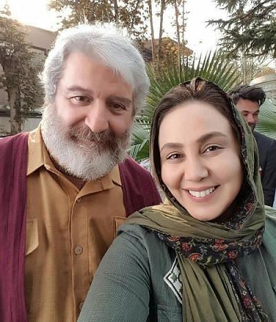 عکس بهنوش بختیاری و دکتر امید روحانی