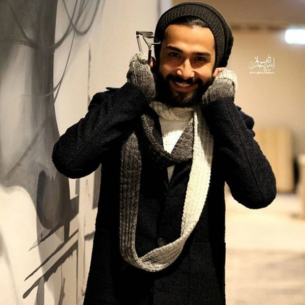 عکس حسین مهری بازیگر نقش سینا در سریال زمانه