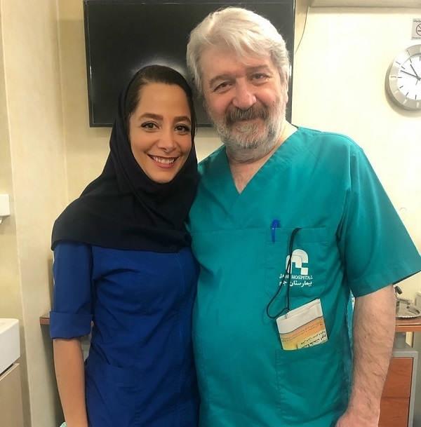 عکس دکتر امید روحانی در بیمارستان